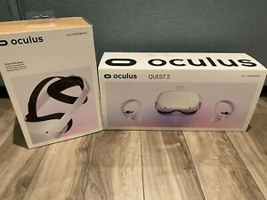 "Oculus Quest 2 64GB VR Headset with Quest 2 Elite Strap ""Bundle"""