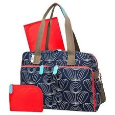 NWT * ORLA KIELY Target NAVY Satchel Tote Diaper Bag- 3 pc set NEW BABY STEMS