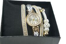 Watches women Ladies Crystal Quartz Bracelet Bangle Wrist Watch
