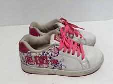 DC Shoes Pixie 3 A Youth Model Girls Size 2.5 301777A 2.5Y White Pink Skate