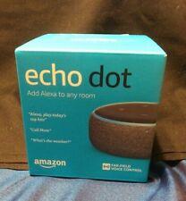 Amazon Echo Dot 3RD Generation Charcoal Gray NEW SEALED