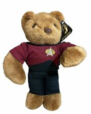 """Star Trek Bear Starfleet 15"""" 1997 Paramount Pictures Fiesta Plush 2001"""