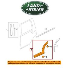For Land Rover LR3 LR4 Rear Driver Left Wheel Arch Molding Door OES DGP000155PCL