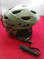 GIRO Nine Jr G9 Helmet Youth Small 52-55.5 cm Olive Drab Ski Snowboard  preowned