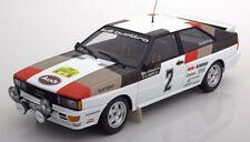 1:18 Minichamps Audi Quattro Winner Rally Sweden Mikkola/Hertz 1981