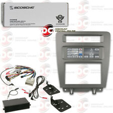 SCOSCHE ITCFD01B SINGLE/ 2-DIN INTEGRATED INSTALL KIT FOR 2010-2014 FORD MUSTANG