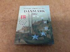 DENMARK 2002 Euro  Pattern COIN SET - FREE UK P&P