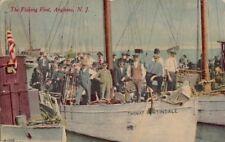Postcard The Fishing Fleet Anglesea NJ