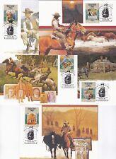 Ausrlialia - 1034a-e - Man fron Snowy River Postal cards - unused - B7232