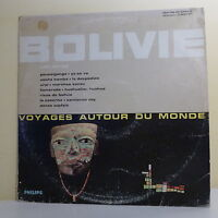 """33 tours Los INCAS Disque Vinyle LP 12"""" LA BOLIVIE - PHILIPS 844877 Frais Reduit"""