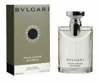 Bvlgari Pour Homme Extreme Men 3.4 oz 100 ml Eau De Toilette Spray Box Sealed