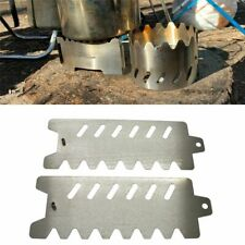 New listing Portable Camping Pot Stove Stent Outdoor Holder Bracket Standing Windshield