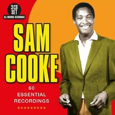 SAM COOKE - 60 ESSENTIAL RECORDINGS  3 CD NEU