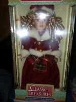 """Doll Timeless Treasures - Angelina Collection - 18"""" Porcelain Doll - NIB"""