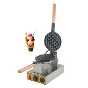 Protelex Bubble Waffeleisen Waffelgerät Waffelautomat Waffle Maker Bubble waffle