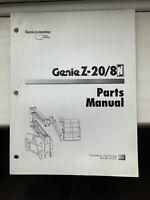 Genie Z-20/8 Parts Manual