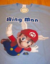 Nintendo Super Mario Bros. 64 WING MAN FLYING MARIO T-Shirt LARGE NEW w/ TAG