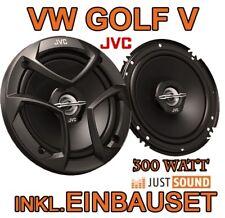 VW Golf 5 V  JVC LAUTSPRECHER BOXEN SET HINTEN-HECK TÜR EINBAUSATZ PAAR NEUWARE