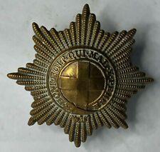 WW2 Coldstream Guards cap Badge east west lugs original