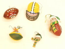 Green Bay Packers Christmas Ornament set