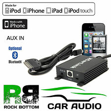 Toyota Prius 2003 On Car Radio AUX IN iPod iPhone Interface Cable & Bluetooth