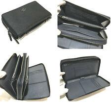 $298 COACH F23334 Double Zip 27 Card Coin PHONE PASSPORT Travel ORGANIZER Wallet