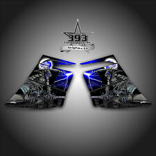 SKI-DOO REV MXZ SNOWMOBILE WRAP GRAPHIC SIDE PANEL DECAL 03-07 GUARDIAN BLUE