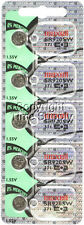 Maxell 371 SR920SW SR920 V371 D371 605 Watch Battery 0% MERCURY ( 5 PC )