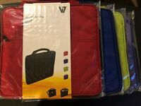 """Slim Sleeve Carrying Case Bag w/Handle for Variety of Tablets 5"""" 6"""" 7"""" 8"""" 9""""Inch"""
