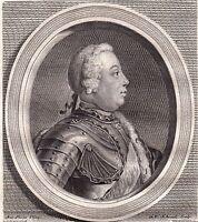 Portrait XVIIIe Frédéric-Guillaume Ier de Prusse Friedrich Wilhelm I Preußen
