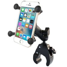 RAM Tough-Claw Handlebar Rail Mount with Standard Arm & X-Grip - Fits iPhone 6