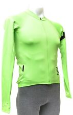 Rapha Pro Team Long Sleeve Jersey Men XS Green Road Gravel Bike Neon MTB Forcats