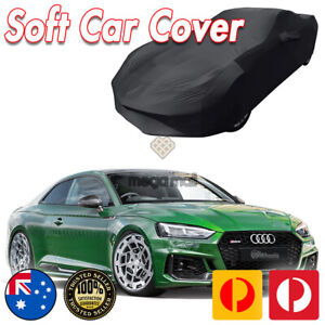 Black Show Car Dust Cover for Audi RS3 RS4 RS5 S3 S4 S5 Washable Soft Plush
