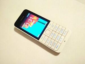 Nokia 220 RM-970 RM900 White UNLOCKED  Bluetooth Radio GSM 900 / 1800