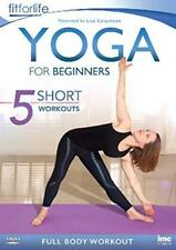Yoga For Beginners – 5 Short Workouts Full Body Workout - Fit Life [DVD]