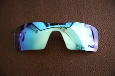 PolarLenz Polarizadas Azul Hielo Lente de Repuesto para-Oakley Oil Rig Gafas de sol