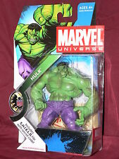 MARVEL UNIVERSE ACTION FIGURE - THE HULK GREEN (X-MEN AVENGERS CLASSICS LEGENDS)