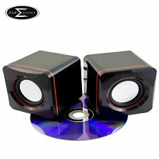 USB 2.0 MINI N-CUBE USB SPEAKERS FOR PC LAPTOP COMPUTER IPHONE IPOD MP3