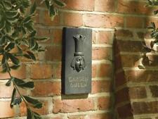 Cast Iron Decorative 'Garden Queen' Plaque (Rust Effect) Wall Sign