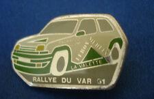 PINS RARE AUTO RALLYE DU VAR 91 LA VALETTE LEROY MERLIN