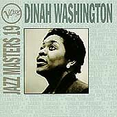 DINAH WASHINGTON - VERVE JAZZ MASTERS - CD
