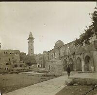 Gerusalemme Foto Stereo Vintage Placca da Lente VR2L11n9