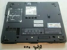 HP Compaq NX9005  Bottom Base Chassis Case  Covers Battery & Screws 317432-001