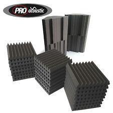 AFHS2 Pro Acoustic Foam Home Studio Kit 24 Afw305 Tiles & 4 Bassblock Bass Traps