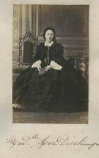 Portrait actrice Rose Deschamps Second Empire Bouffes-parisien 1870