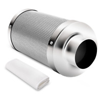 """iPower 6"""" Inch Air Carbon Charcoal Filter for Odor Control Exhaust Inline Fan"""