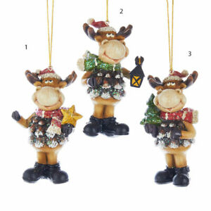 Moose Holiday Ornament