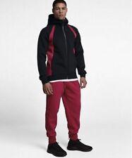Mens Air Jordan Flight Tech Fleece Full-Zip Hoodie 879497-013 Black New M