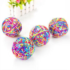 Pet Dog Cat Moving Funny Colorful Rolling Ball Kitten Training Pet Toy RU