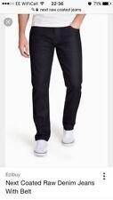 Indigo, Dark wash Regular Size 30L Jeans Men's NEXT